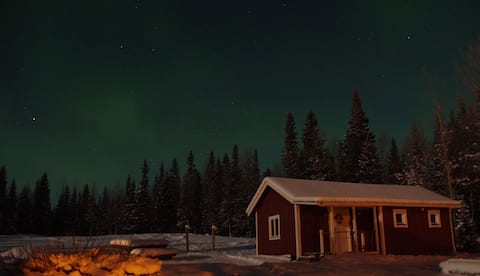 The Capercaillie Cabin,  love our wilderness