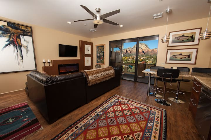 Sedona's Best Views, Pvt 2BR Suite #24