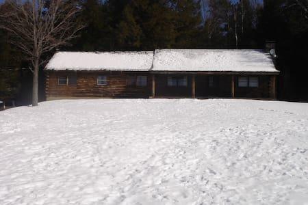 Vermont Cabin - All Necessary Amenities - Hartford - Rumah