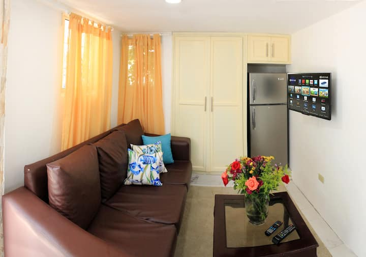 2 Guests 1Bed Studio 3min to Beach and Main Street