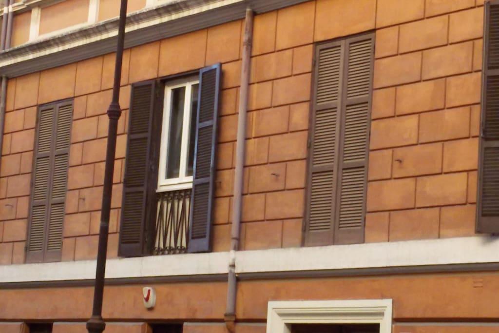 Finestre dell'appartamento
