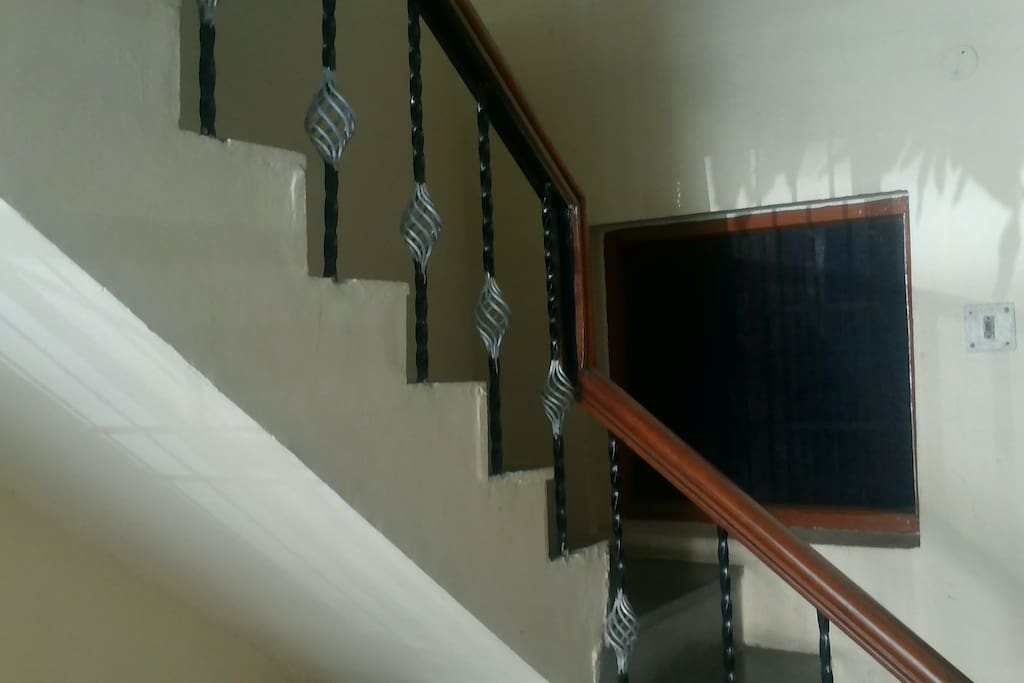 16 Stairs to accomodation