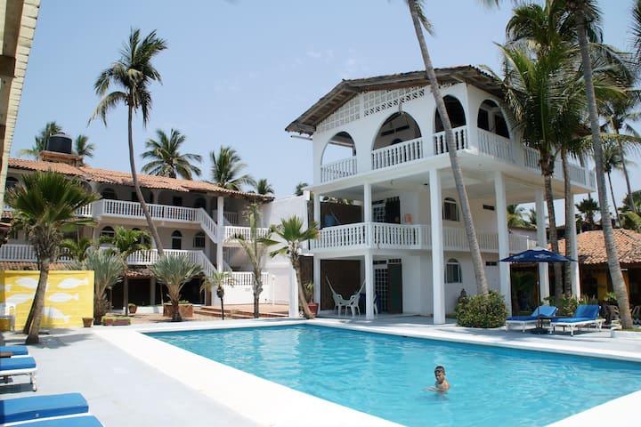 Villa Nirvana on the Beach #6