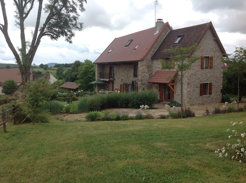 Country house in southern Burgundy