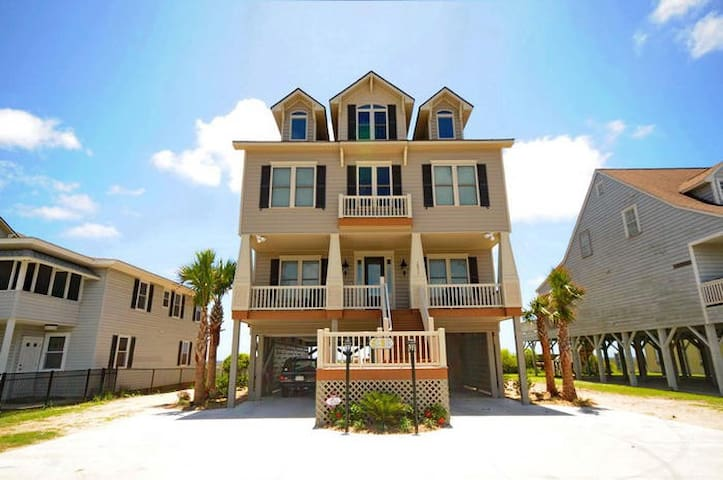 Myrtle Beach Oceanfront 8 BR/8.5 BA - Sleeps 30 - North Myrtle Beach - Dům