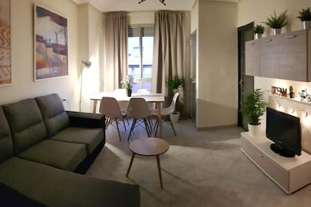 Apartamento espacioso muy céntrico.