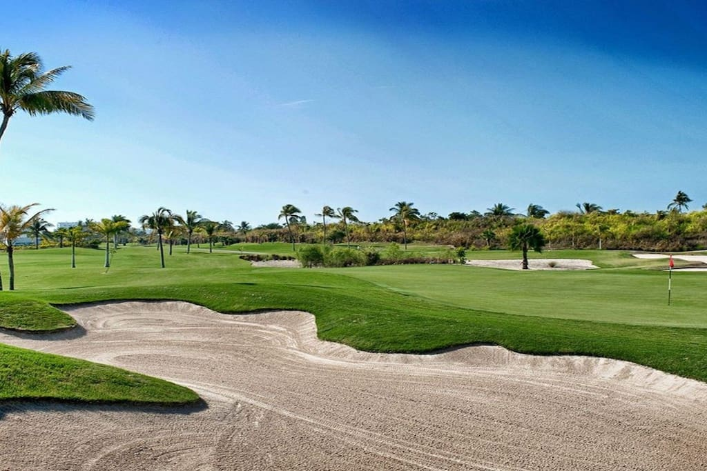 One of two golf courses 18 holes each one golf courses were designed by golf pros Jack Nicklaus