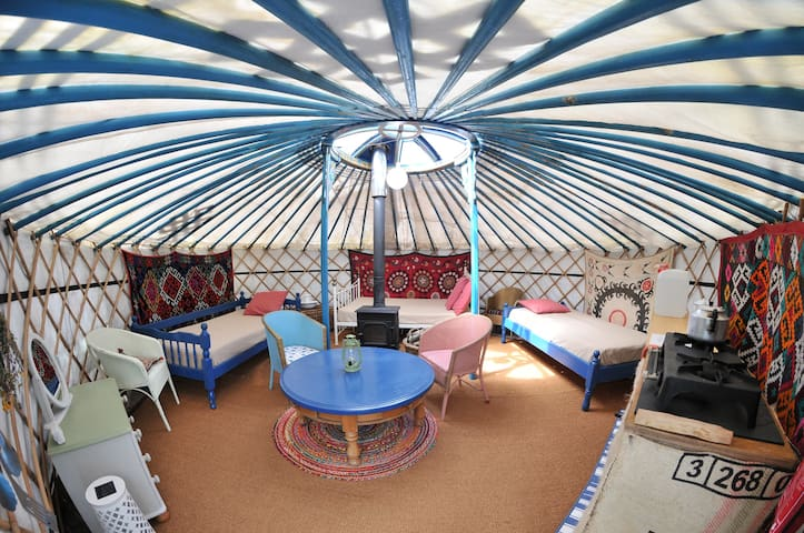 The Willow Yurt