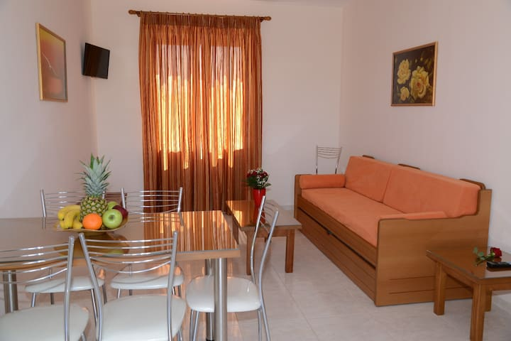 One Bedroom Apartment (Comfort) for 4 people - Drepano - Apartament