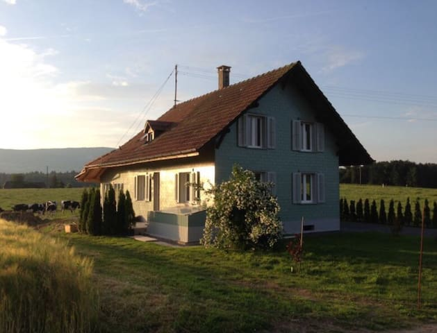 Nice house centrally located - Wangenried - Talo