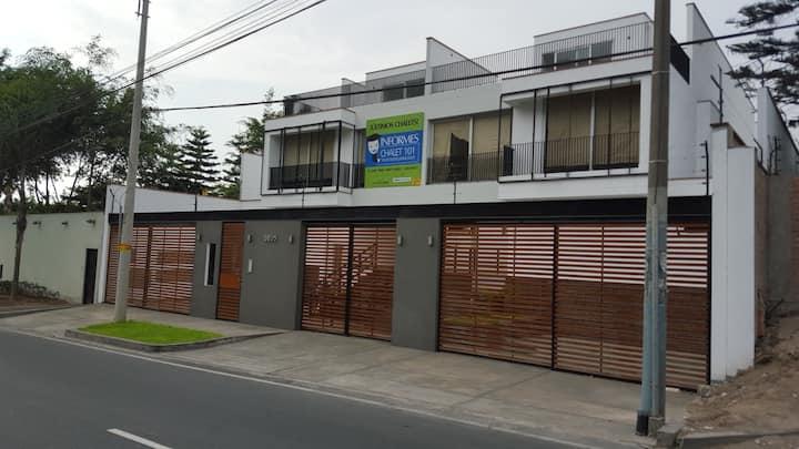 Apartamento Completo en Casa  La Molina