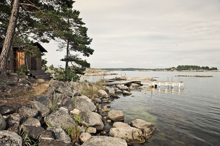 Archipelago house with jetty/Sauna. - Trosa S - House