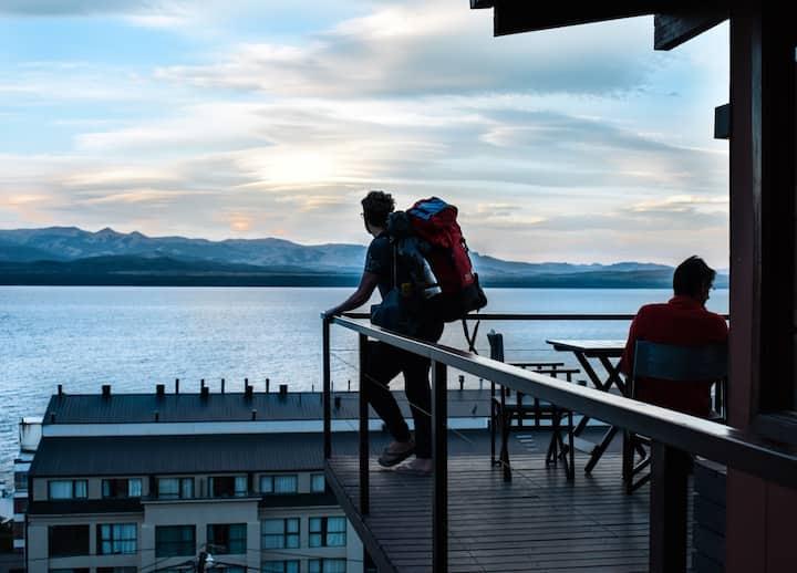 Cama en dormi compartido - Hostel Inn Bariloche