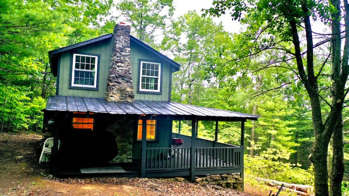 Off-grid cabin at The Channels