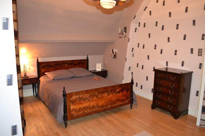 chambre d'hôtes dans propriété - Saint-Malo - Bed & Breakfast