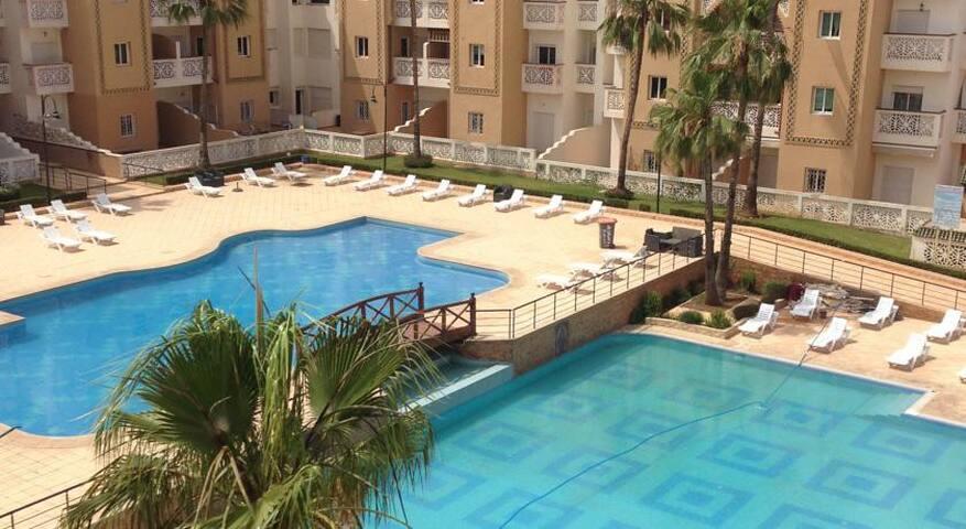 Bel appartement dans Residence Al Kawtar - Mohammedia - Apartment