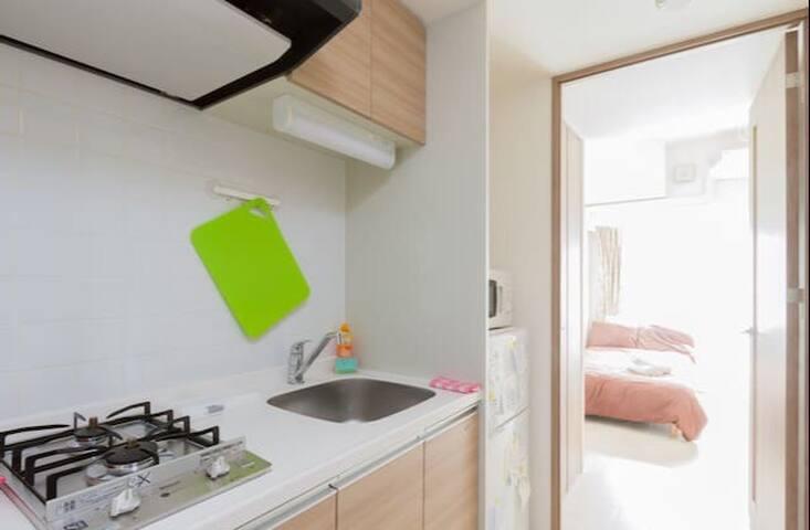 A Newly Apartment!! Namba=8min walk 開幕活動!! - Naniwa-ku, Ōsaka-shi - Wohnung