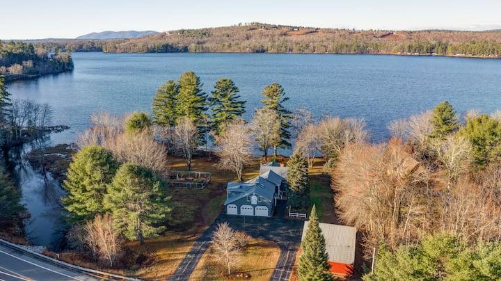 Crystal Lake House w/Private Beach!
