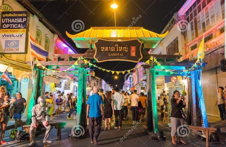 Phuket town Studio with balcony 202