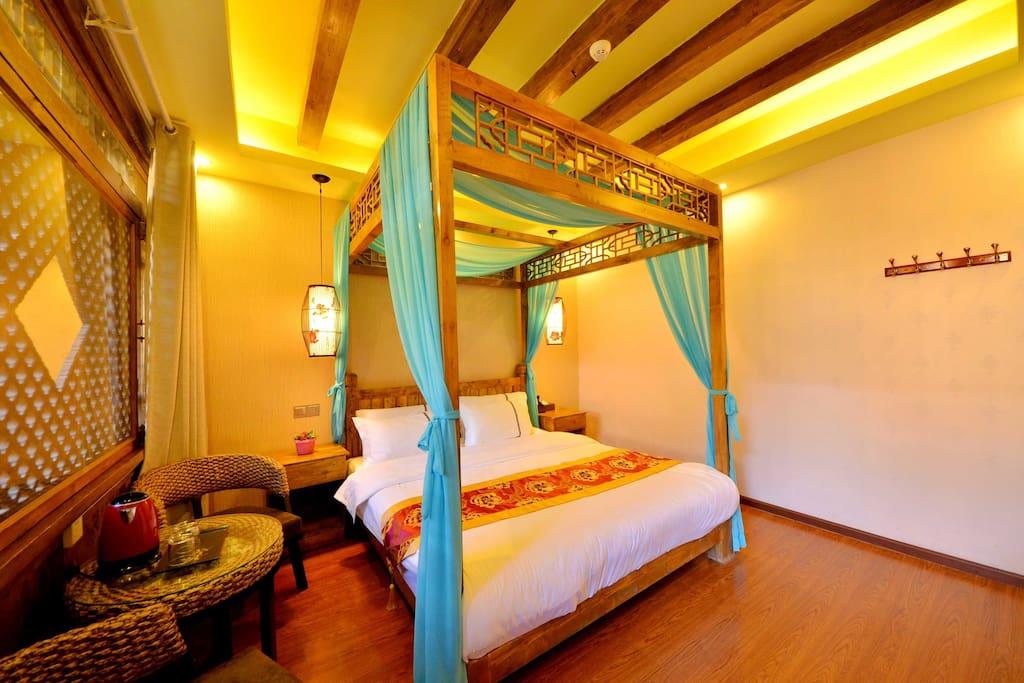 古典的卧室