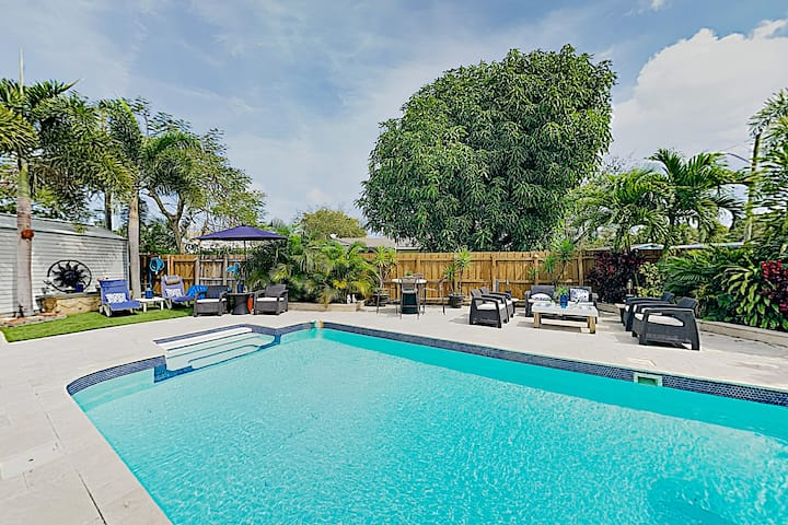 New Listing! Luxe Escape w/ Pool & Hot Tub