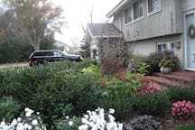Late Summer Front Yard