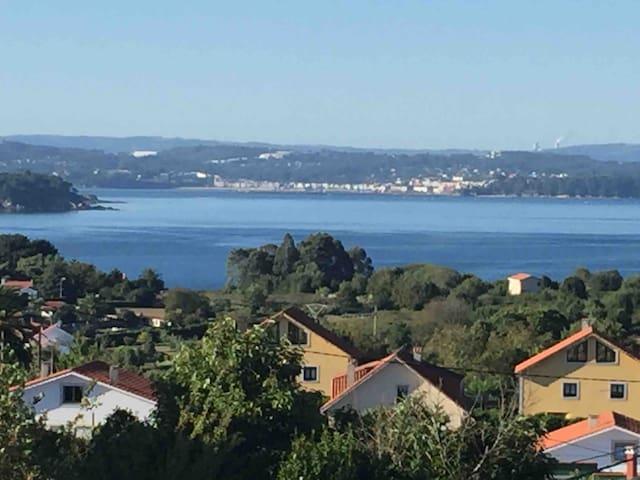 Habitación en casa con jardín en Redes, A Coruña