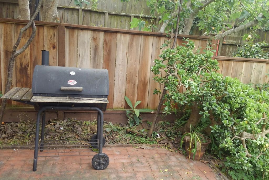 Feel free to use our grill!