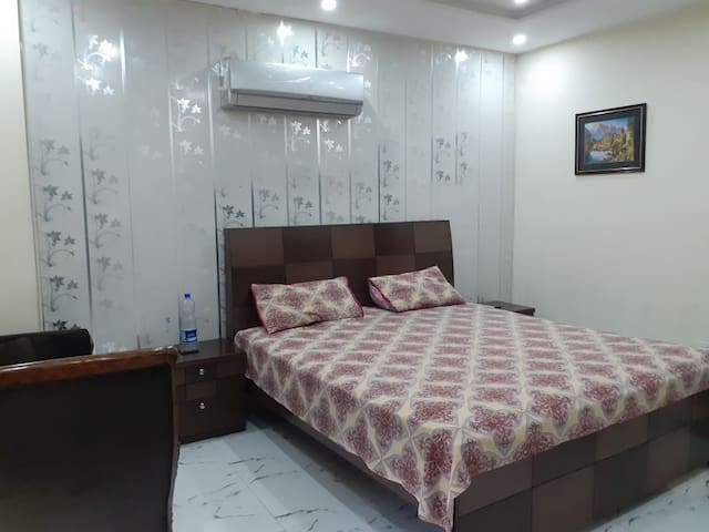 Complete Furnished Family Apartment in Bahria 502