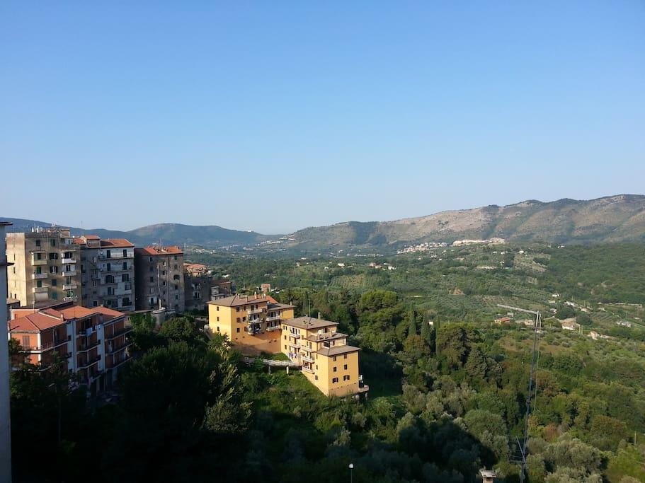 Utsikt mot Tivoli