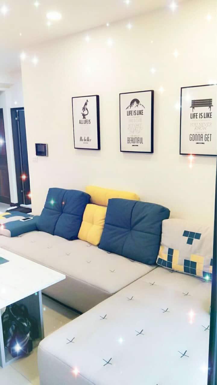河堤景觀家庭房(整層可6-8人)附車位Riverbank View Family Suite