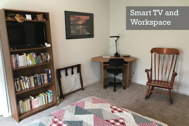 Smart TV and workspace