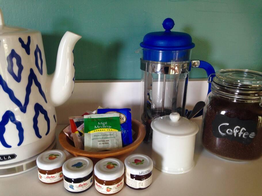 Kitchen comforts
