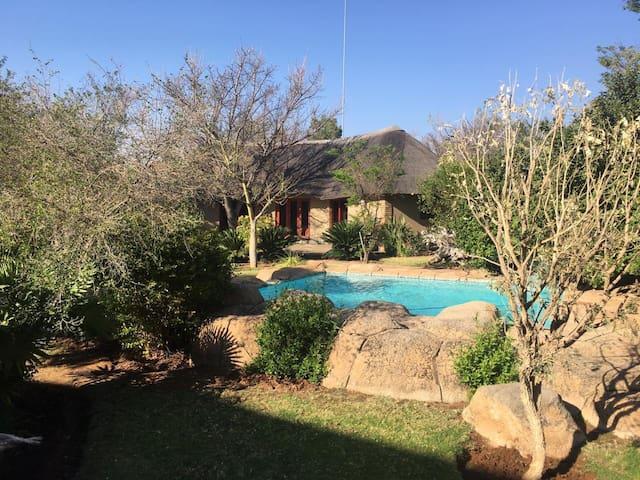 Beautiful Private Bushveld Oasis