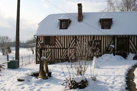 maison normande en pays d'Auge avec piscine - Saint-Gervais-des-Sablons - Nature lodge - 2