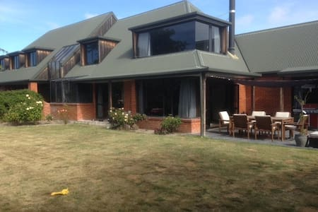large family home in quiet residential area. - Kaiapoi