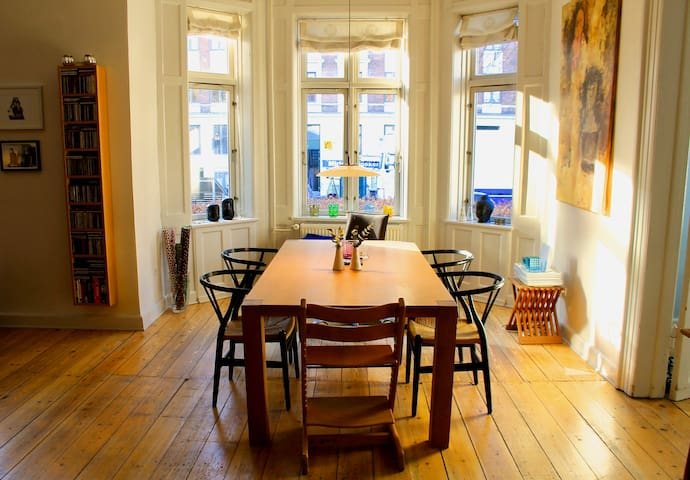 Beautiful 4-bedroom villa apartment in Copenhagen - Kopenhagen - Huis
