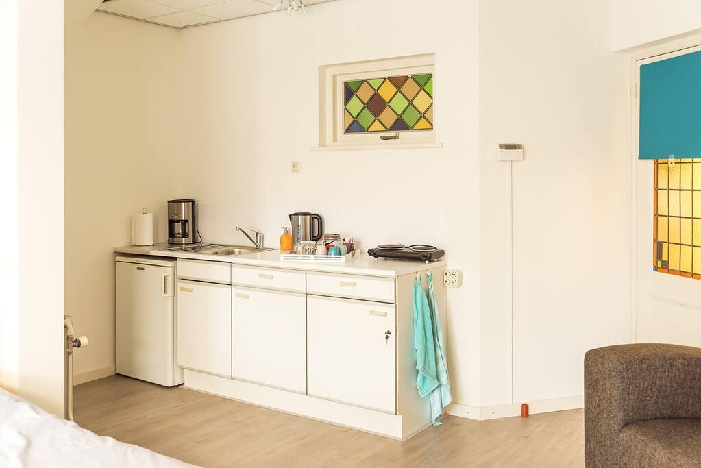 Een nette keuken