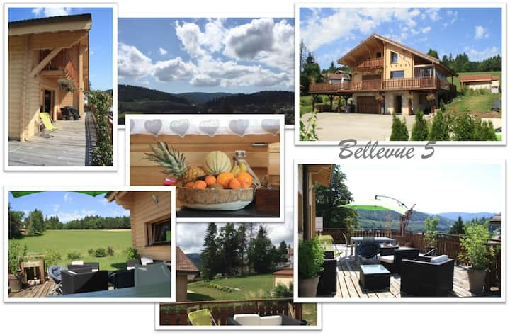 Chalet for 5 P,queit area, Wellness & SPA