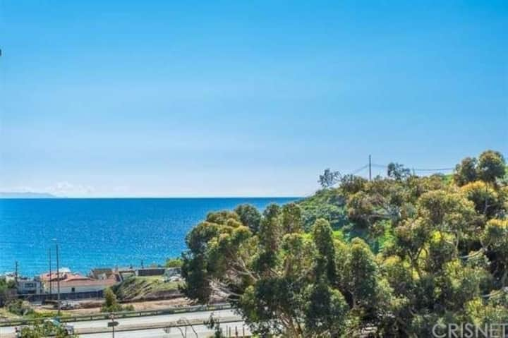Spacious Ocean View Condo in Malibu