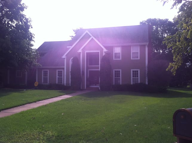 Granger home close to upscale restaurants and ND