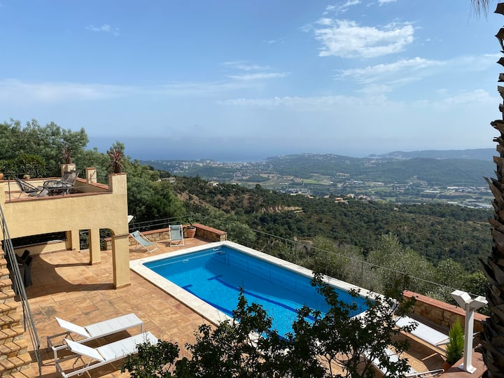 Platja d'Aro Luxurious villa south faced (9 p.)
