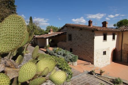Cypresses - Tuscan farmhouse with swimming pool - Rignano Sull'Arno - Apartment