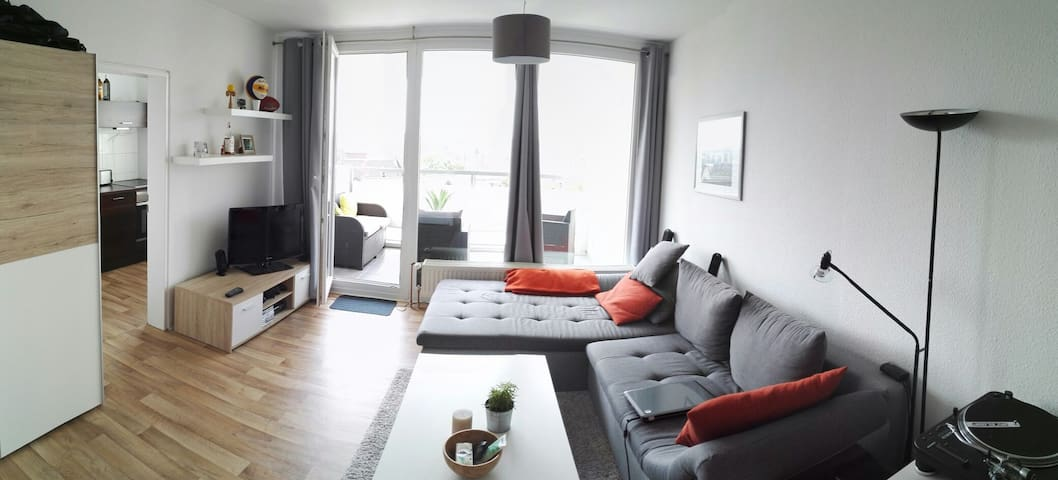 40 m² Apartment am HBF mit super Ausblick - Braunschweig - Leilighet
