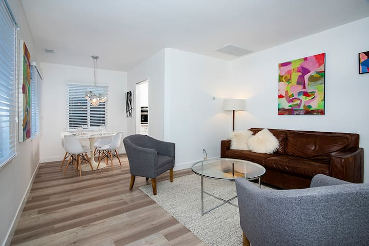 Just renovated, clean & modern single-family home