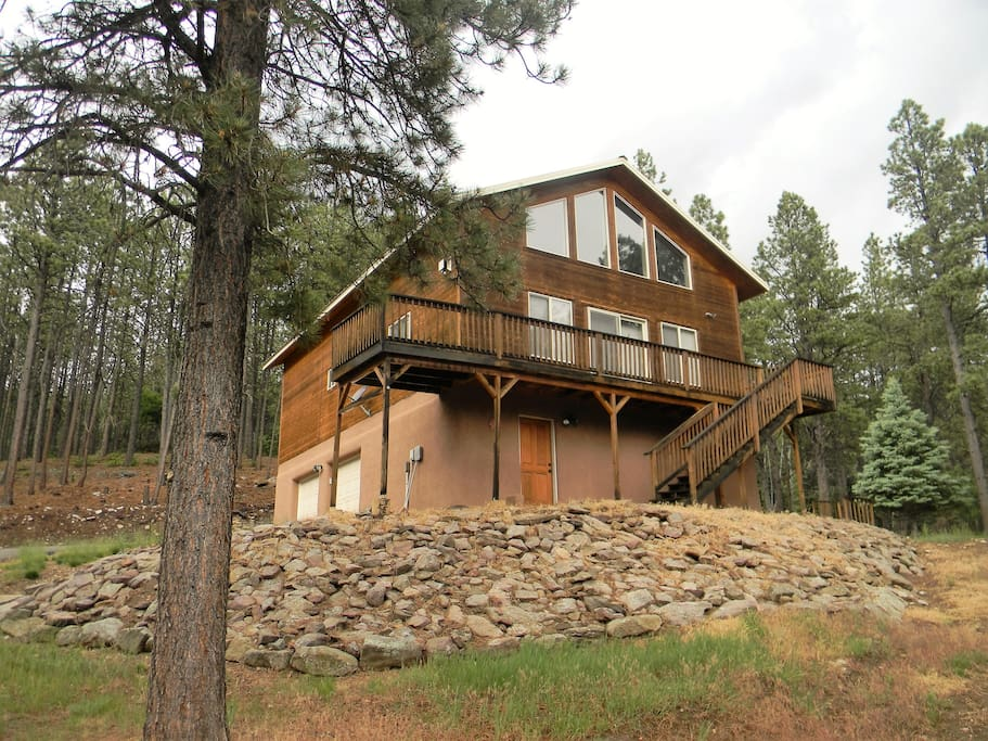 relaxing mountain home angel fire cabins for rent in