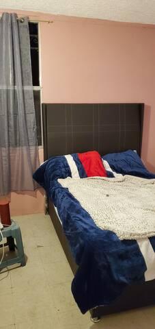 Habitación privada pero uso compartido en pasillos