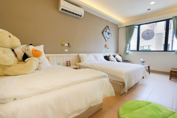 Two Double Bed Room - Hualien City - House