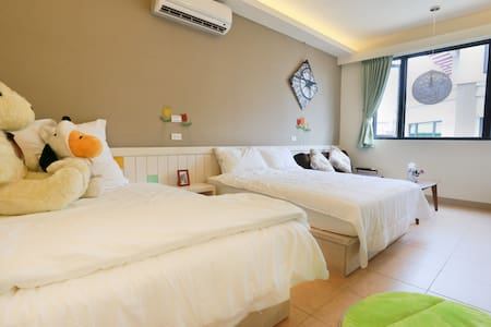 Two Double Bed Room - Hualien City - Дом
