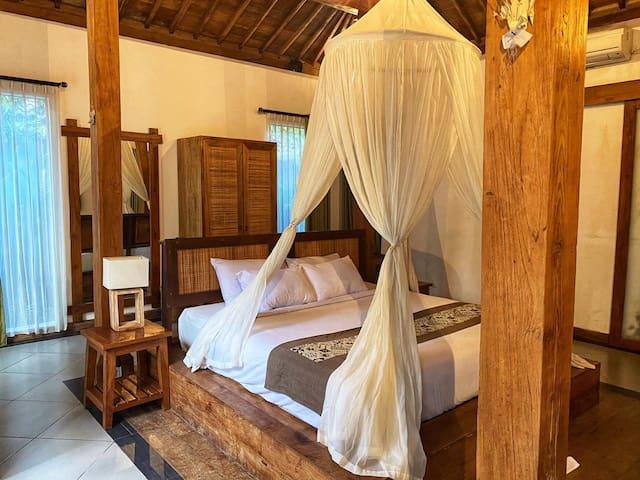 Bedroom for Villa Raja Umah Joglo